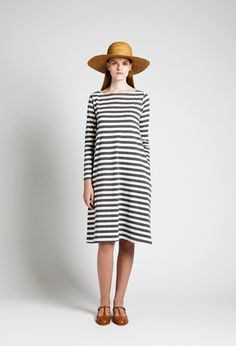 Samuji - Renja Dress & T- bar flats- [ yes ]