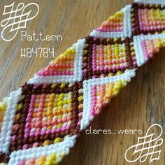 Photo of #84784 by Claires_Hairs - friendship-bracelets.net