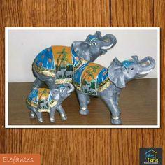 En el momento de elegir una figura de un elefante que te resulte atractiva, ten en cuenta que haya sido creada con materias nobles, como la cerámica.