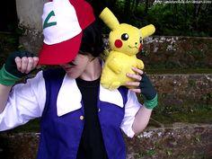 Pokemon Ash Ketchum, Ash Pokemon, Pikachu, Pokemon Costumes, Pokemon Cosplay, Ash Ketchum Cosplay, Pokemon Photo, Best Cosplay, Cosplay Costumes