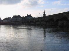 La Charité sur Loire, Bourgogne, France. Winter 2010.
