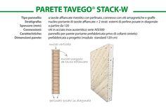PARETE TAVEGO STACK-W