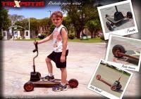 E: Federico Martín Camusio / D: Leandro Brizuela / Rodado infantil sin pedales / Taller de Producción V