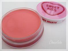 MUA Sweet Kiss lip balm Sweet Kisses, Lip Balm, Blush, Lips, Chocolate, Beauty, Products, Blusher Brush, Beleza