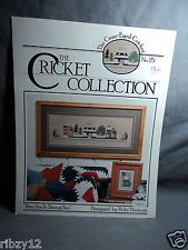 Cricket Collection no.25 From Sea to Shining Sea cross stitch pattern OOP rare