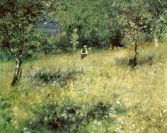 Titre de l'image : Pierre-Auguste Renoir - Spring at Chatou