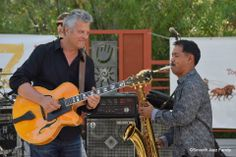 6-14-14  Paul Brown and Michael Paulo. Jazz At The Creek