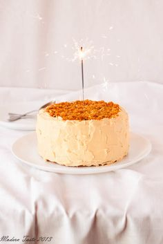 Maple-Gingerbread Layer Cake with Salted Maple Caramel Sauce | Recipe ...