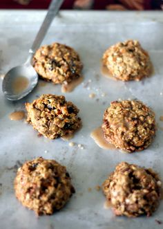 chewy carrot cake oatmeal cookies