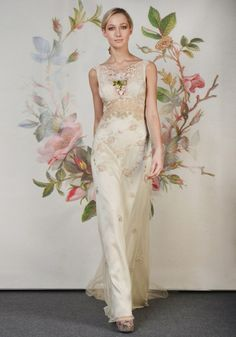 Coleções Vestidos de #Noiva #ClairePettibone #Decoupage 2014 - PRIMROSE #casarcomgosto