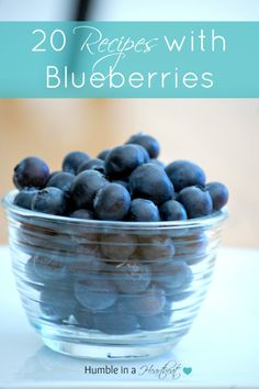 20 Recipes with Blueberries