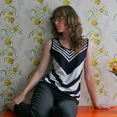 Chevron top by Lisa | Project | Sewing / Shirts, Tanks, & Tops | Kollabora
