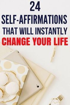 These self-affirmations will instantly change your life. They will make you a more positive thinker, increase your self-confidence. If you are a woman, then these affirmations for women is a must read. self-care self-love self-improvement self-confi Positive Self Affirmations, Affirmations For Anxiety, Affirmations For Women, Morning Affirmations, Positive Thinker, Positive Mindset, Success Mindset, Positive Vibes, Positive Quotes