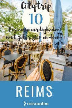 Welke bezienswaardigheden in Reims mag je niet missen? De stad van de Champagne heeft veel te bieden. Ontdek het in onze gratis reisgids Champagne. De beste tips voor een onvergetelijk bezoek. Net, Christmas 2019, Trips, Bucket, France, Summer, Travel, Sousse, Dawn