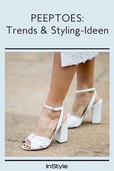 Peeptoes: Schuhe für die Ewigkeit Peep Toes, Cooler Look, Espadrilles, High, Flats, Shoes, Outfits, Fashion, Summer Accessories