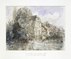 Fittleworth Mill, Sussex, John Constable, 1834