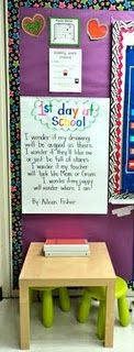Amazing First grade classroom. Love how organized she and the class are! I am doing this!