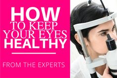 Did you know that eye doctors can be the first health care providers to detect chronic health conditions such as diabetes and high blood pressure? Check out their tips on keeping your eyes healthy!