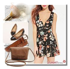 """Sammydress 56"" by azra-90 ❤ liked on Polyvore featuring mode, women's clothing, women, female, woman, misses en juniors"