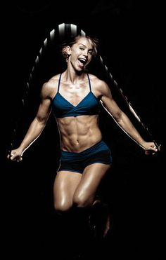 Johanna Erlebach, fun crossfit jump rope #fitness #motivation #fitspo <3