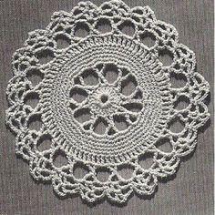 Crochet Thread Placemat Pattern