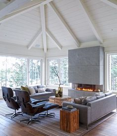 fireplace + ceiling