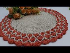 Crochet Mandala, Crochet Doilies, Crochet Diagram, Table Runners, Coasters, Sunflower Bathroom, Crochet Blankets, Crochet House, Crochet Ornaments