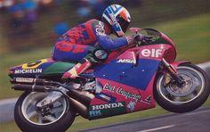Pierfrancesco Chili #5 Honda NSR500 Team Elf La Cinque 1990