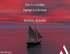 And you, what do you choose?  #agedimorning #quoteoftheday #winstonchurchill #courage