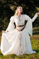 12th century french style garb. Too early for me, but love the style. Plus it's french!
