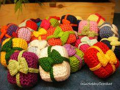 Guarda questo articolo nel mio negozio Etsy https://www.etsy.com/listing/246547481/amigurumi-christmas-ornament-crochet