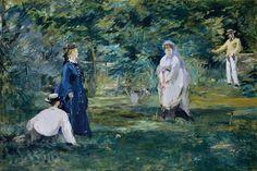 Édouard Manet: A Game of Croquet, 1873
