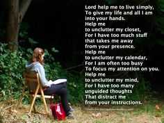 I wrote this prayer last year when starting to prepare for Advent and the Christmas season.Christmas is a season when all of us spend too much, eat too much and hurry too much. All of us need help...