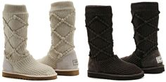 ANNAWII ♥ - KNITTED UGGS