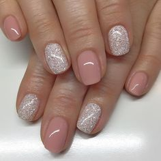 Gel Nail Designs For Short Nails Pictures pin on nail Gel Nail Designs For Short Nails. Here is Gel Nail Designs For Short Nails Pictures for you. Gel Nail Designs For Short Nails pin auf nails. Glitter Gel Nails, Nude Nails, My Nails, Coffin Nails, Neutral Gel Nails, Sns Nails Colors, Silver Glitter, Pedicure Colors, Gel Nails With Glitter