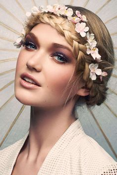 Quirky Floral Editorials : Flower, Fashion, Nature, Beauty