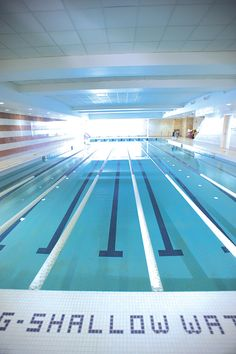Olympic Swimming Pool Underwater an underwater view of the london olympics swimming pool   just