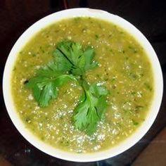 Salsa de Tomatillo y Ajo @ allrecipes.com.mx