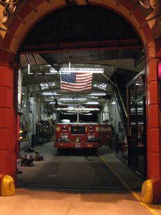 New York Fire Truck. My future home! Fire Dept, Fire Department, Lights And Sirens, Firefighter Paramedic, Fire Equipment, Fire Apparatus, Emergency Vehicles, Chicago Fire, Fire Engine