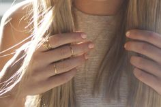 #jewellery#ring#gold#nails#pink