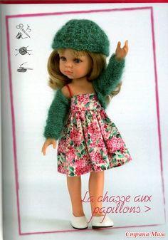 Любителям Paola Reina. Выкройки и схемы для куколок 32 см. - Гардероб для куклы - Страна Мам