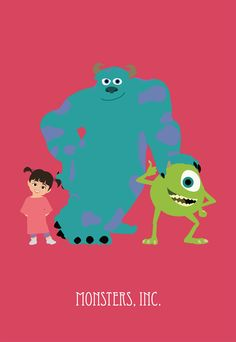 monsters, inc http://www.etsy.com/shop/liveitups2 http://society6.com/sunday