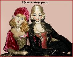 Rare Smiling Rosalinde French Boudoir Doll