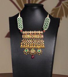 #bridal#rajwadi#necklace