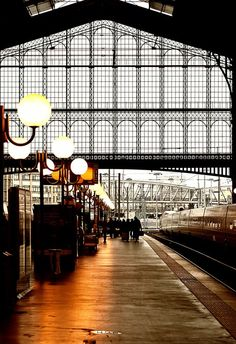Gare du Nord, Paris | France Take the Chunnel from London and here we stop. What a beautiful way to travel.