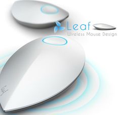 Leaf wireless mouse runs off its own kinetic energy