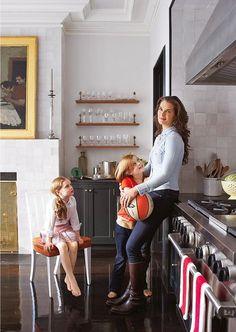 Брук Шилдс с дочками Роуан Фрэнсис и Грир Хаммонд