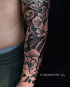 Tattoo Japanese Style, Japanese Tattoos For Men, Rose Tattoos For Men, Japanese Dragon Tattoos, Traditional Japanese Tattoos, Japanese Tattoo Designs, Japanese Sleeve Tattoos, Tattoos For Guys, Japanese Flower Tattoos