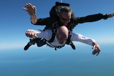 Seniors Skydiving, Getting Tattoos, Taking a Risk and Living Life to the Fullest