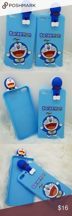 IPHONE 7&8PLUS FLYING DORAEMON 3D CASE PRICE IS FOR 1 PIECE  100% Brand New cases. *Made of high qualitySoft TPU, light and durable *Fashion design, easy to put on and easy to take off. *Perfectly fit for IPHONE 7&8 PLUS *Protect your phone from dust, scratching and shock. *Color: As shown Pictures . Accessories Phone Cases